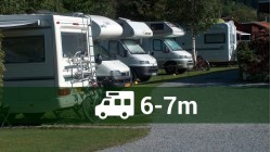 Plot for a motorhome  up to 7.00m