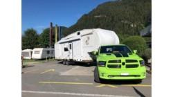 Parzelle für Caravan über 9m
